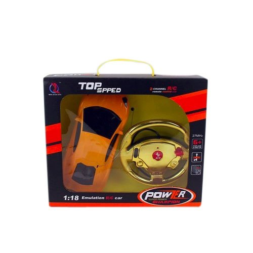 Plastic Top Speed Car Toy, Packaging Type: Box