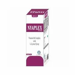 Vitamin B Complex with L Lysine Syrup, Packaging Size: 200 Ml