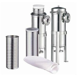 Stainless Steel Bag Filter Housings, For Industrial