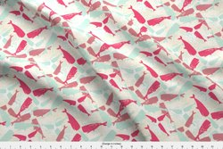 Coral Fleece Printed Fabric