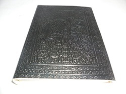 Elephant Embossed Handmade Leather Journal