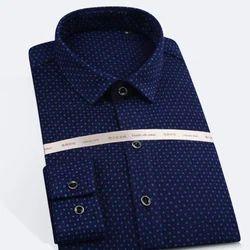Cotton Plain Fashion Party Wear Shirts