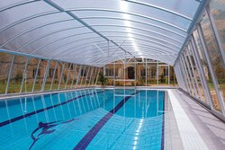 Swimming Pool Roofing Shed