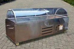 Polished Dead Body Freezer Box