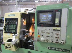 CNC Turning Mori Seiki ZL 15 s