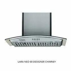Hindware Stainless Steel Baffle Filter Lara Neo Designer Chimney, For Commercial