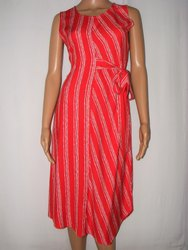 Printed Neels Rayon Dress