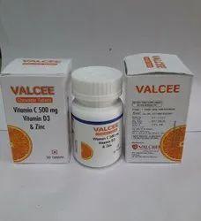 vitamin-c zinc vitamin d3