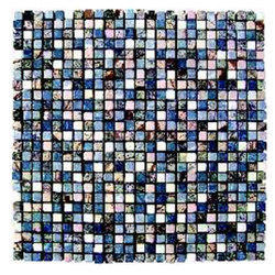 Blue Stone Mosaic Wall Tile
