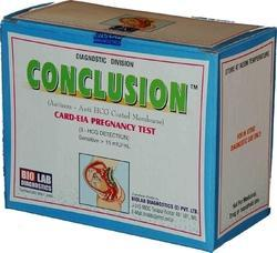 Rapid HCG Kit - Conclusion Cards (IS6210) & Strips (IS6211)