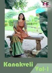 Kanakveli Silk Vol 1 Tanchui Art Silk by Yadu Nandan Fashion