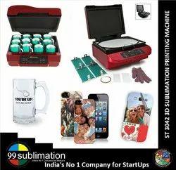 Premium St 3042 3d Sublimation Mobile Cover Printing Machine