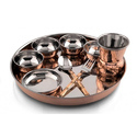 Copper Regular Thali
