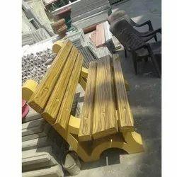 Designer Garden Bench Mold