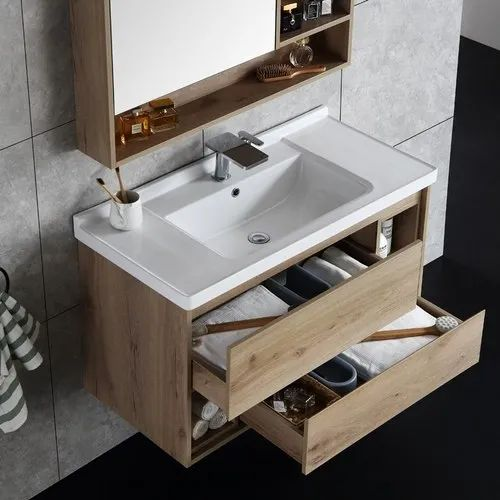 Wall Mounted Corian Designer Bathroom Vanity For Residential Id 22475381112