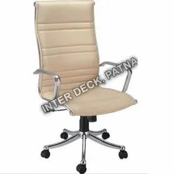 400 Mm Designer Leather Office Chair