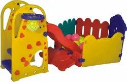 Playpen with Slide / Nursery Play Equipment / Plastic Playground Equipment