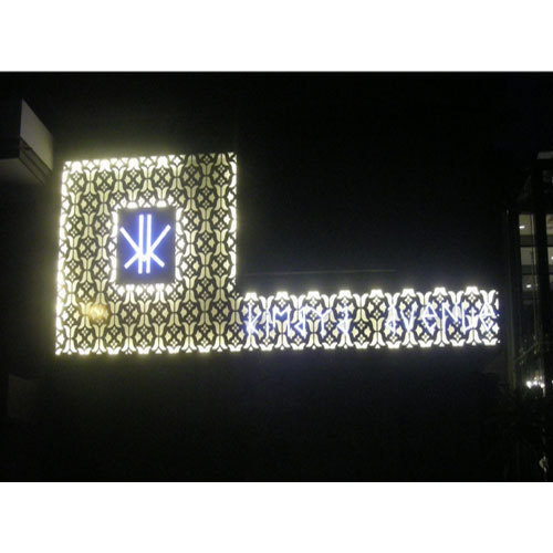 Outdoor Signage - Illuminated Letters Manufacturer from Chennai