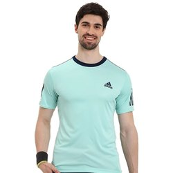 Adidas Mens Plain Cotton T-Shirt, Size: Medium