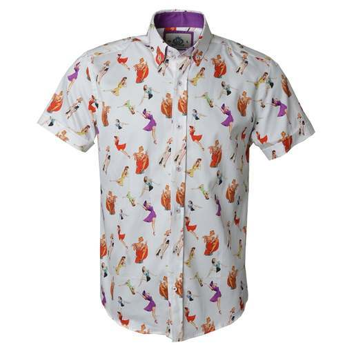 8cf8e670 Cotton/Linen Mens Half Sleeves Printed Shirt, Rs 350 /piece | ID ...
