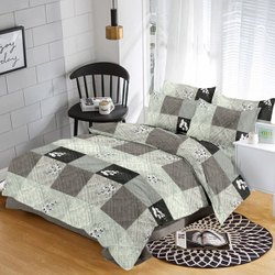 Organic Grey Bed Sheet