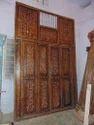 Wood Bone Door