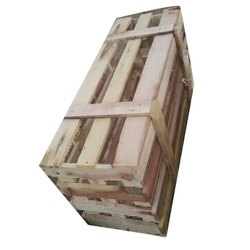 Edible & Non-Edible Rectangle Industrial Wooden Packaging Box, 5-15 mm, Box Capacity: 100-500 Kg