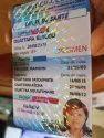 Bespoke Holographic Id Card Overlays