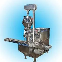 Viscous Cream Filling Machine With Jacketed Hopper and Stirrer