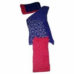 Ladies Designer Cotton Unstitched Salwar Suit, Handwash