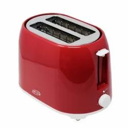 MODA, 2 Slice Popup Toaster 750 Watt, Red Color for Home