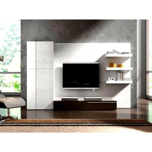 Brown Wood Frame Wall Mounted Led Tv Unit Rs 750 Square Feet Id