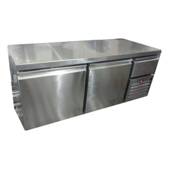 Stainless Steel Salad Counter Under Counter Refrigerator, 100 To 1000 L
