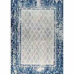 Modern Bordered Printed Area Rug And Carpet