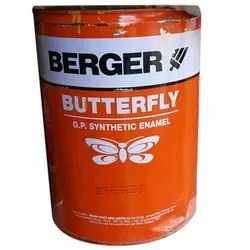 Berger Butterfly GP Synthetic Enamel Paint Packaging 20 Ltr, Packaging Type: Bucket