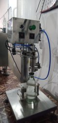 Glass Bottle Milk Filling Machine