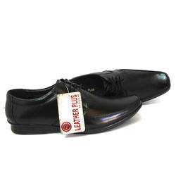 Leather Plus Leather Formal Shoes, Size: 6 To 10