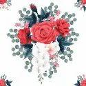 Chiffon Floral Digital Printed Fabrics