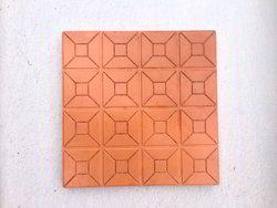 Terracotta Parking Tiles