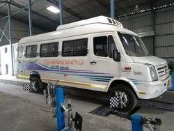 Tempo Traveller Tyre Alignment Repairing Service