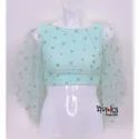 Sequence Net Blouse