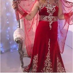 Packet Red Designer Wedding Dress