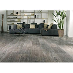 Oak Misty Grey Laminated Flooring