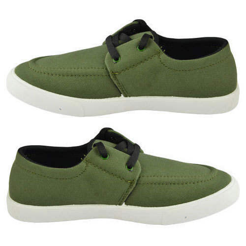 ad9243d0900 Canvas Green Casual Shoes