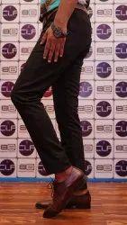 Zipper Plain Men's Black Ankle LENGTH Jean's, Age Group: 18-50
