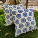 Cotton Hand Block Printed Dori Cushion Cover