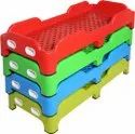 Kindergarten Plastic Children Bed
