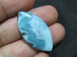 Natural Larimar Loose Stone Cabochon