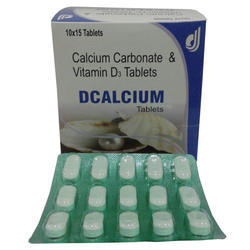 Calcium Carbonate and Vitamin D3 Tablets