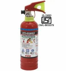 AGNI Mild Steel 1kg ABC Fire Extinguisher, for Office and Home, Capacity: 1 Kg